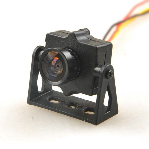 Mini Camera with Camera Mount HMCAM700 FPV 520TVL HD NTSC Format