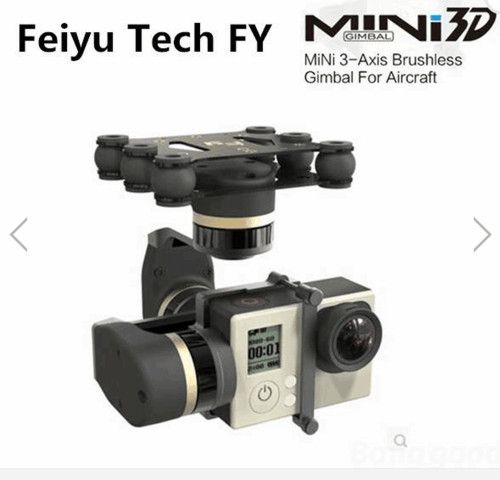 MiNi3D Feiyu Tech FY 3 Axis Gimbal For GoPro4 GoPro3+