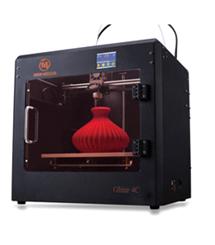Glitar 4C Print 300*200*200 mm high accuracy1.75 mm ABS/PLA/HIPS