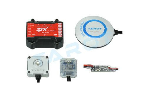 ZYX-MINI Tarot Multirotor Flight Control W/GPS PMU LED ZYX26