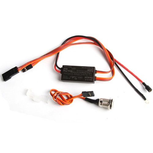Glow System Ignition Drive Glow Plug Driver for RC Nitro RCEXL