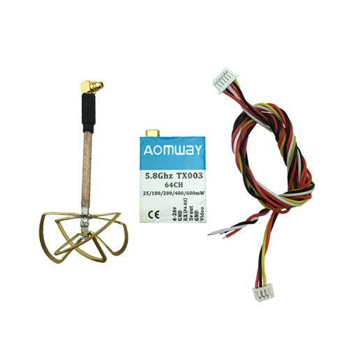 AOMWAY TX003 0mw/25mw/100mw/200mw/400mw/600mw adjustable