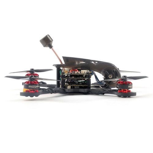 Happymodel Larva X HD 125mm F4 2-3S Toothpick HD Whoop HD 2in1 FPV Racing Drone BNF TBS Crossfire Receiver version