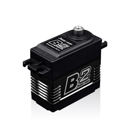 Power HD B2 35kg 7.4V Brushless Digital Servo with Metal Gears and Double Bearings For Climbing Car Fixed Wing 50-100cc Gasoline Engine
