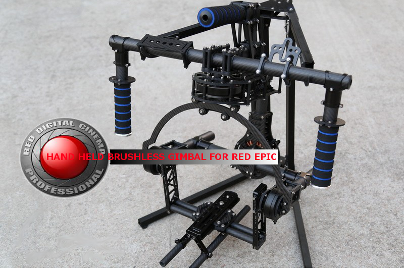 RED Epic 3-Axis hand held Brushless Gimbal for RED Epic Scarlet