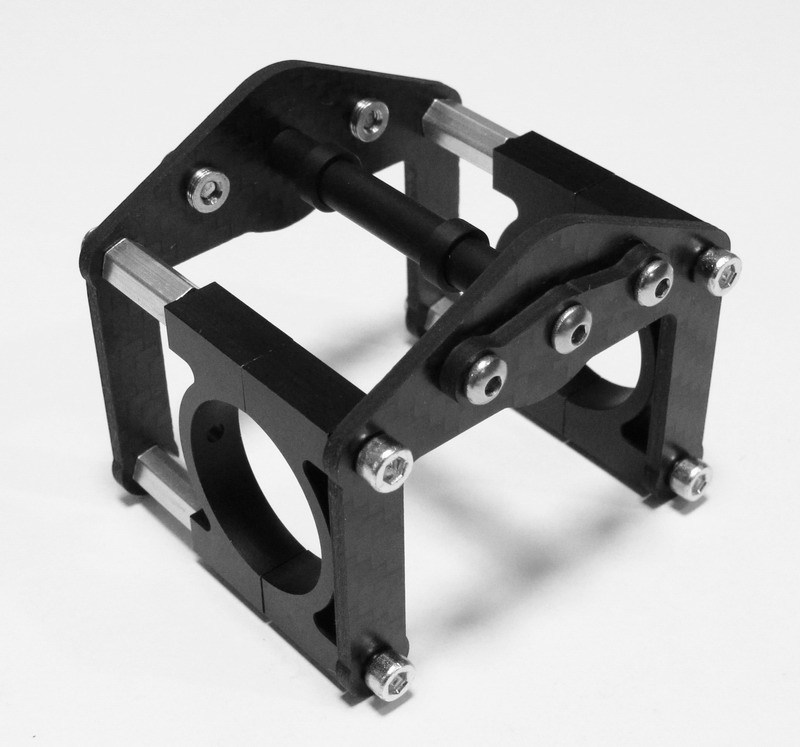 CS041 Roll Cage B with aluminum clamps