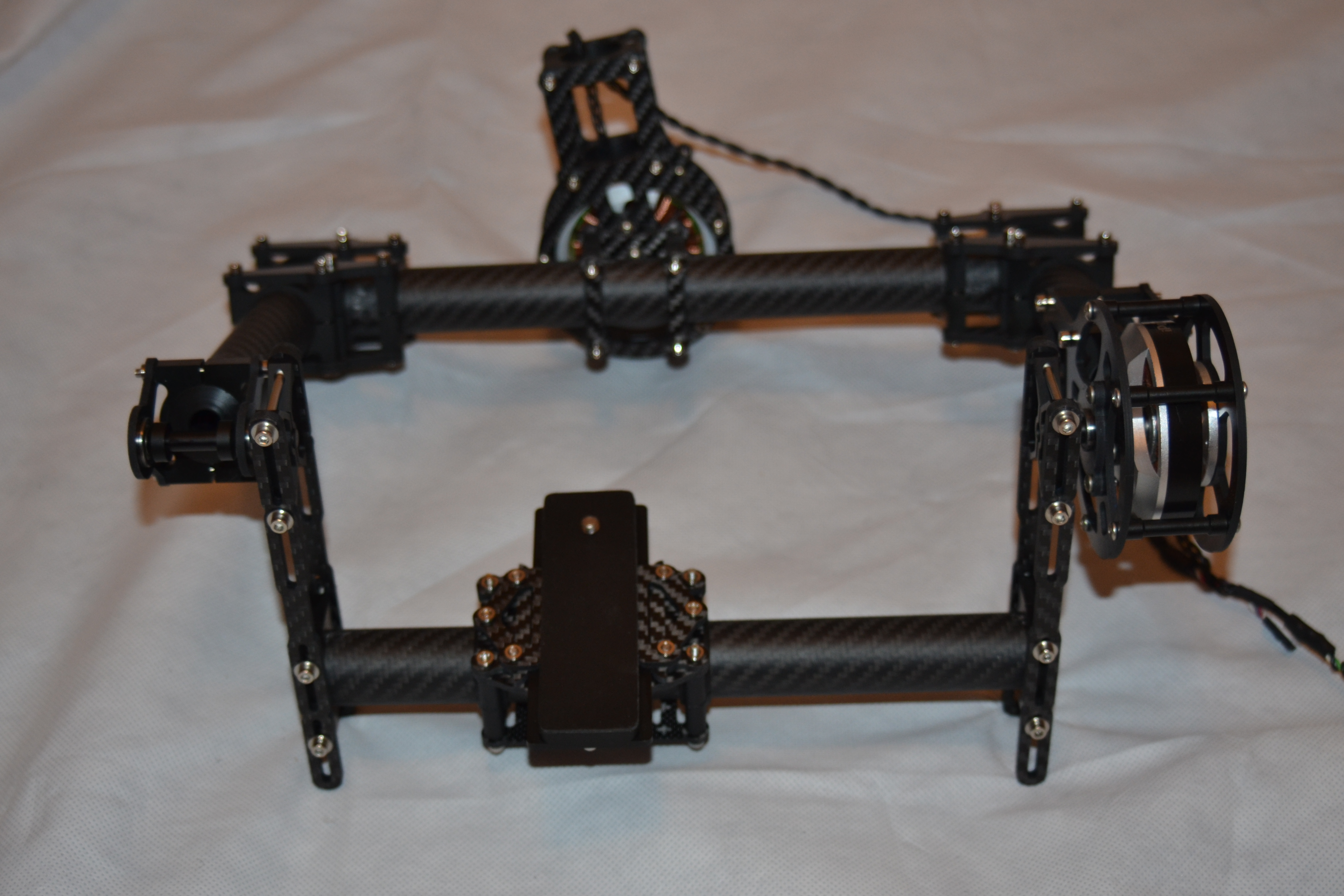 CINESTAR New 2 Axis Brushless GIMBAL system KIT
