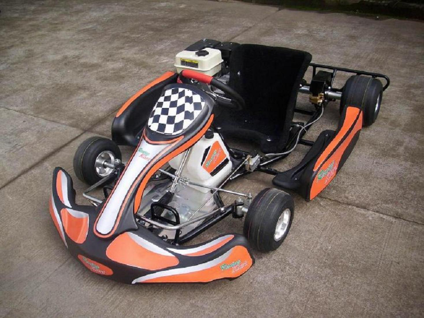 GO kart 200cc track Racing Cart F1 Racing Kart Single seat racer