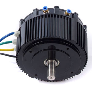 5KW 96V Liquid Cooling High Power BLDC Motor HPM5000B for bike