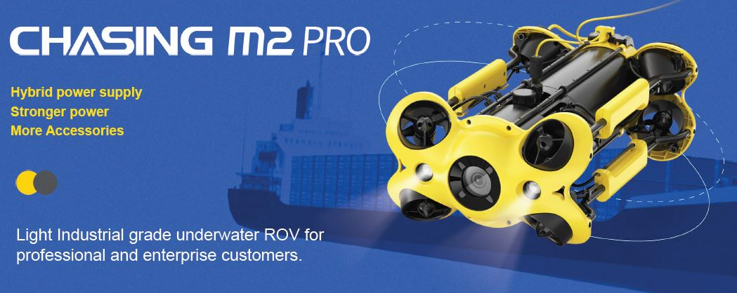 M2 ROV Professional by CHASING Underwater Drone with 4K UHD Cam