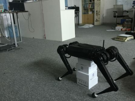 Developed based on MIT cheetah quadruped robot Electric drive robot MIC-01A Mini Cheetah Bionic robot