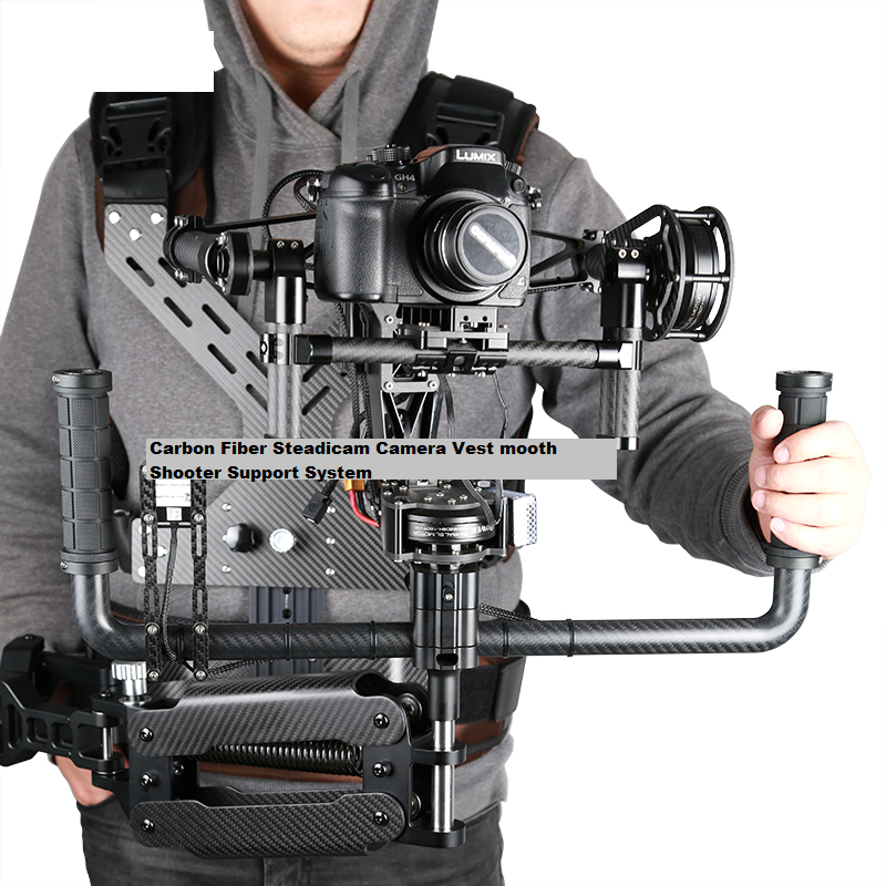 BGC Brushless 3 axis Gimbal system with Steady cam Vest kit