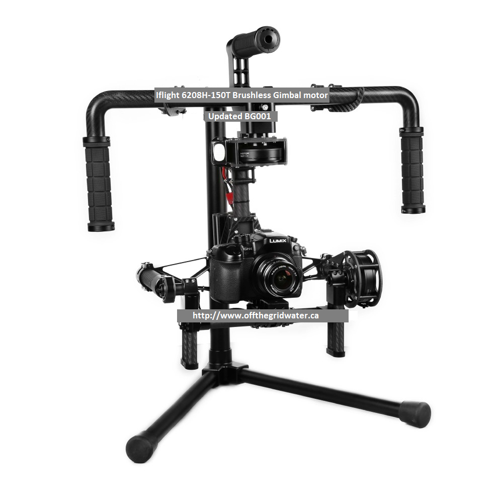 3 Axis Brushless GIMBAL Steadicam Pro System RTF