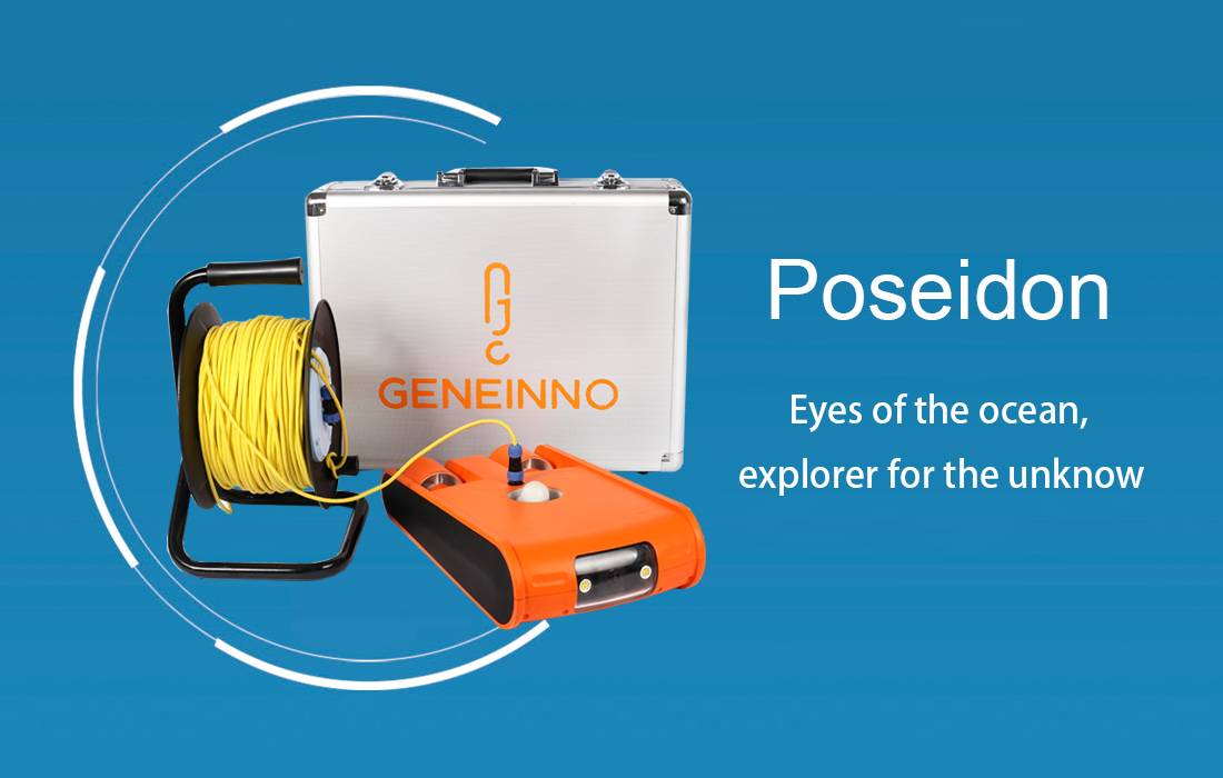POSEIDON MINI SUBMERSIBLE underwater UAV robot drone