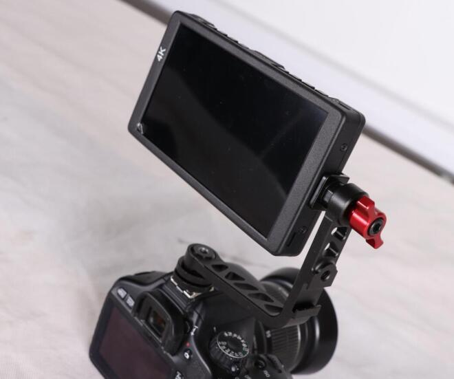 Aluminum Tilt Arm for DSLR external Monitor DVR or lighting