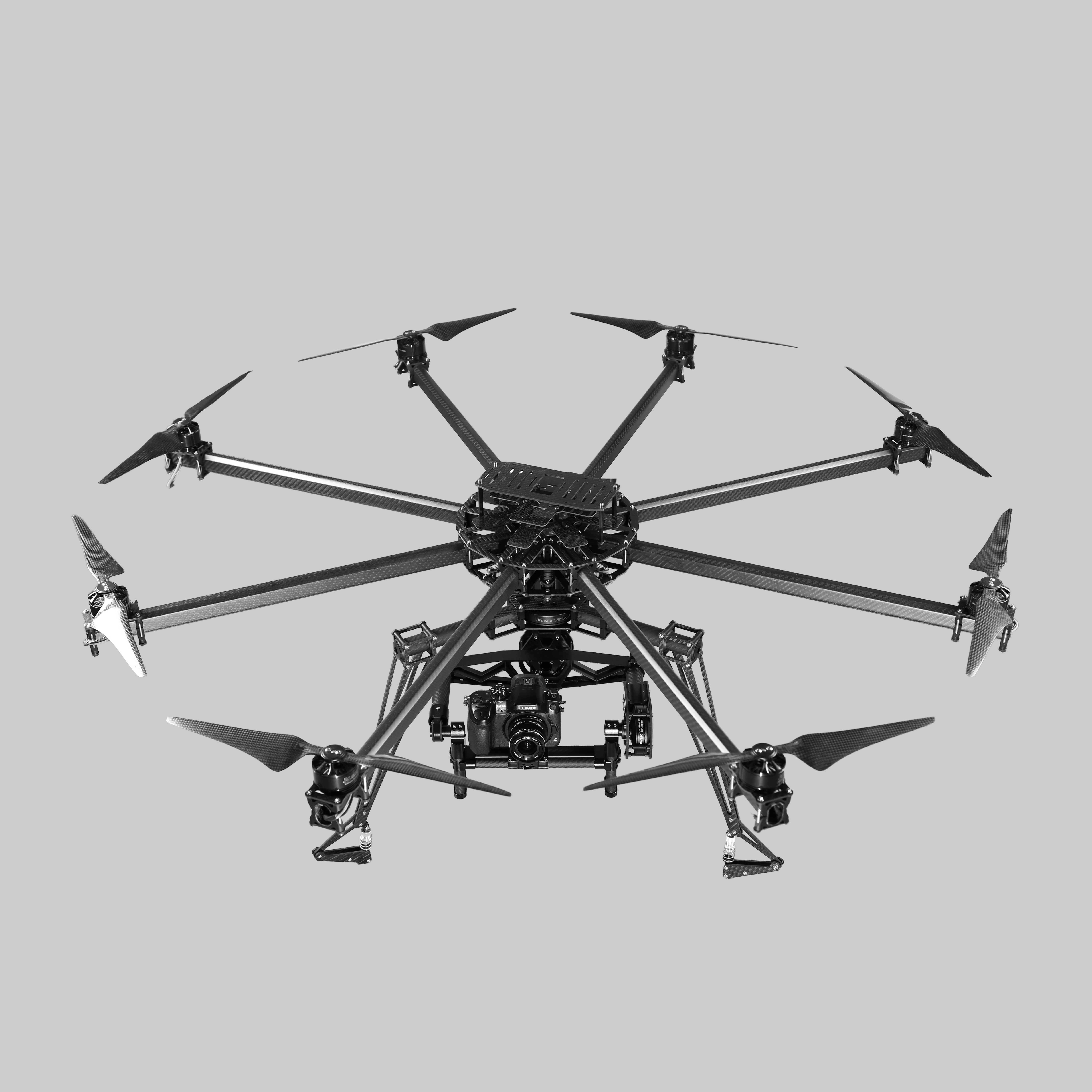 Octocopter RC Multicopter fpv professional CineStar system
