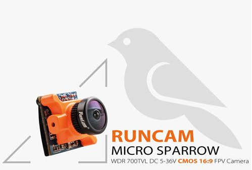 RunCam Micro Sparrow WDR 700TVL 1/3 CMOS 2.1mm FOV 145 Degree