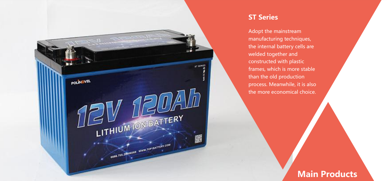 Large capacity LIPO Battery cell 50ah to 500ah 12v-48v