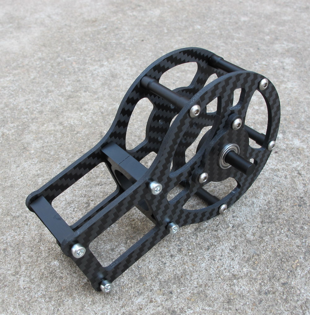 Carbon Fiber motor cage 4mm X Axis For iPower GBM5208