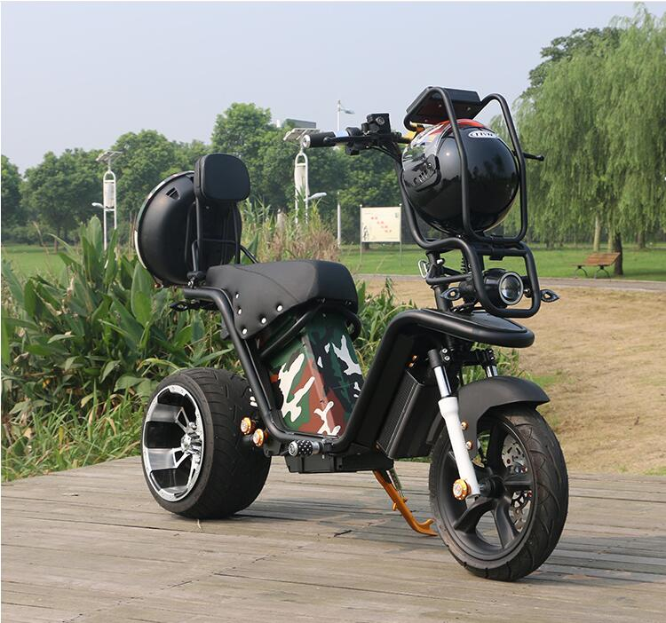 phat Wheel EBIKE Camouflage Electric 1000W Motorcycle