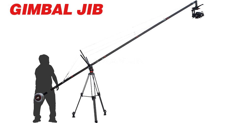 camera JIB crane allows you to shoot variety with BGC Gimbal