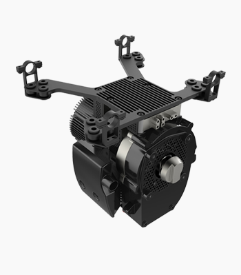 H2 UAV engine hybrid multi rotor power system