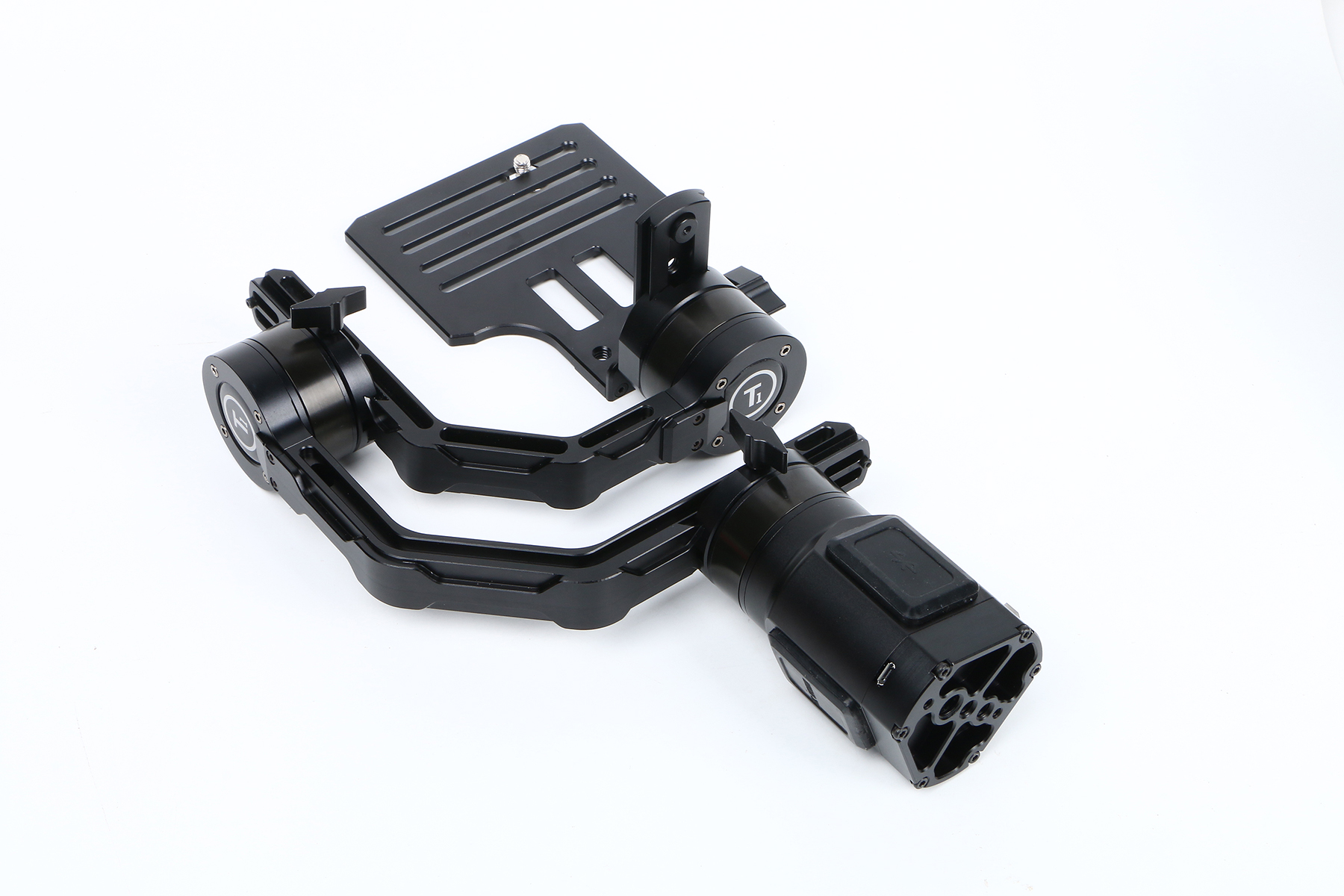 Ti 3-Axis Gimbal Handheld Stabilizer for small DSLR Cameras - Click Image to Close