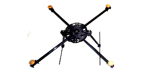 OFM Brute-Q1200 Giant QuadCopter 20min flight time kit