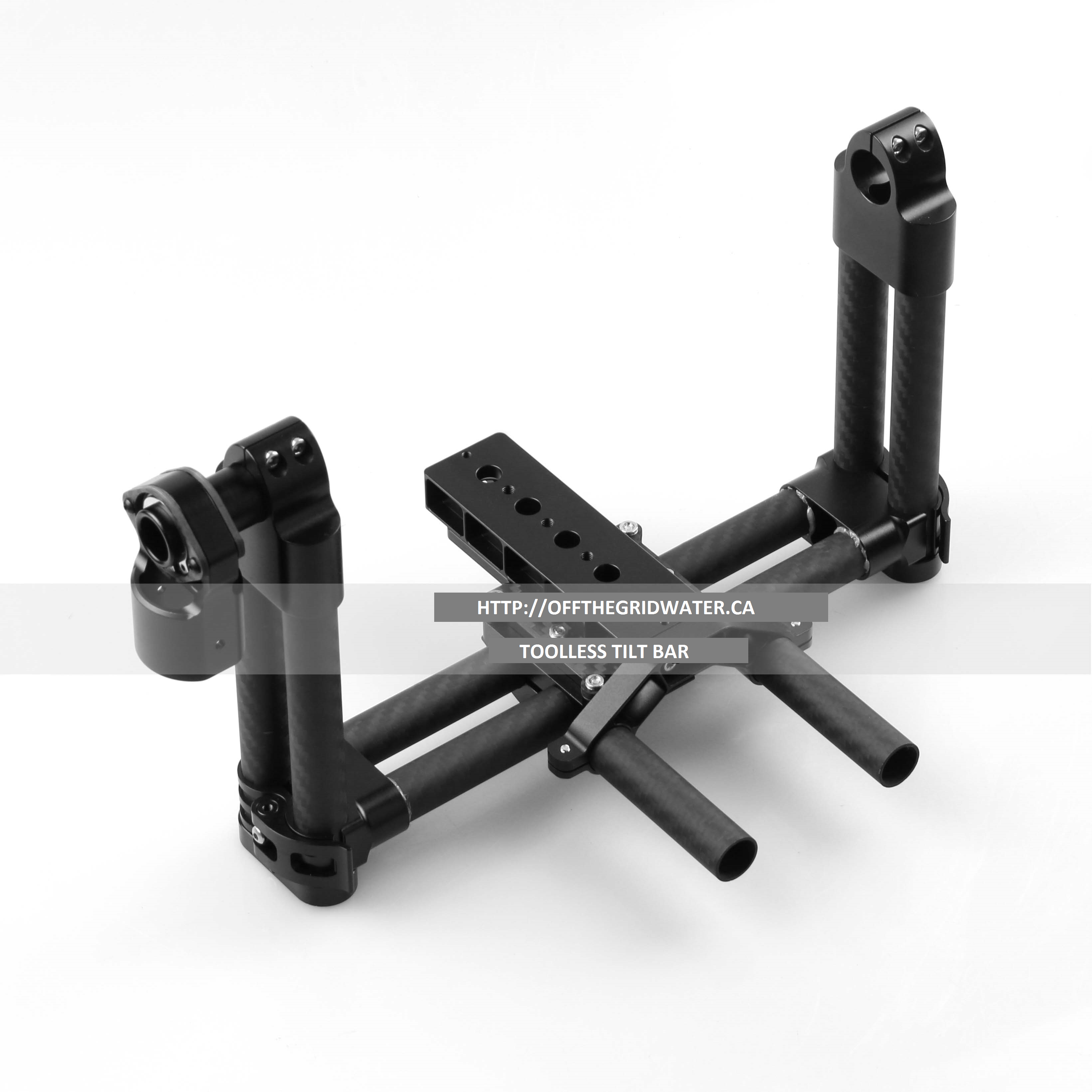Pitch tilt bar system for BG004 pro gimbal
