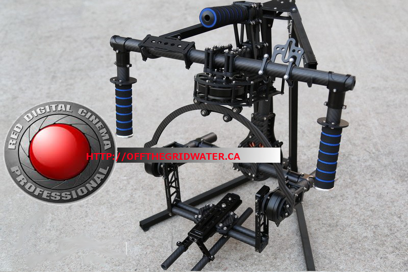 RED Epic 3-Axis hand held Brushless Gimbal 2 man film Crew Pkg