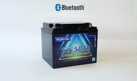 Smart bluetooth battery 50ah 12.8v LiFePO4 Lithium Battery