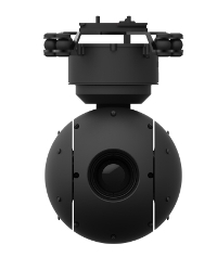 3-axis stabilized gimbals, uncooled IR thermal imaging camera