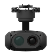 3-axis stabilized gimbals HD uncooled IR thermal imaging camera