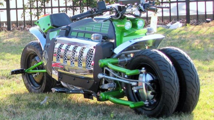Tomahawk 150cc 4 Wheels Electric Sports Motorcycle