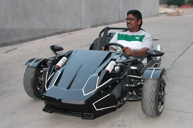 250CC ZTR Roadster Trike High Quality Water Cool 3 Wheel